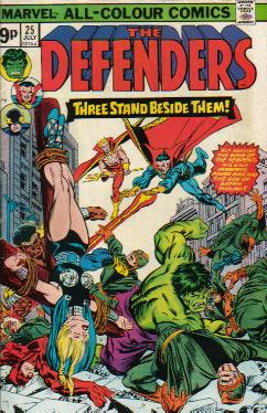 Cover Defenders 25