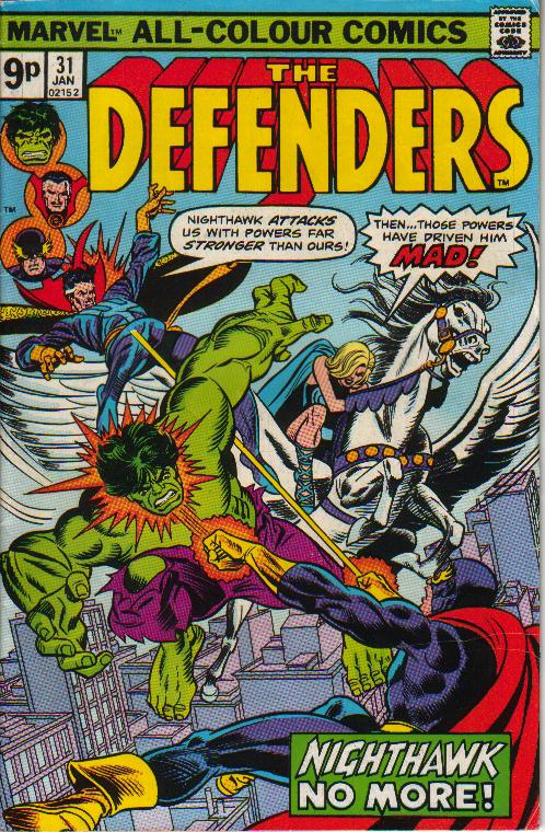 Cover Defenders 31