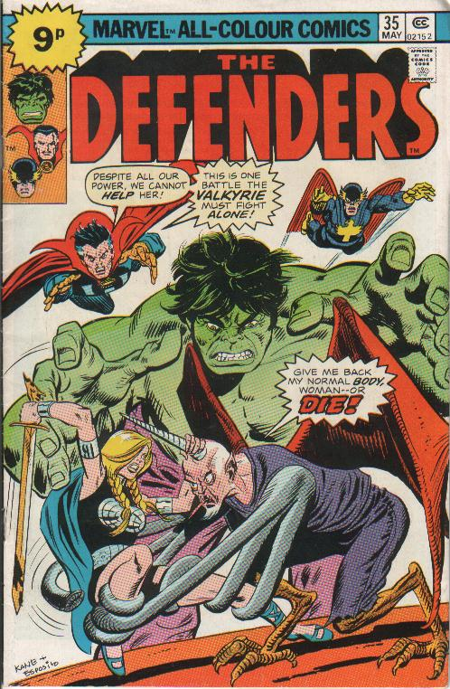 Cover Defenders 35