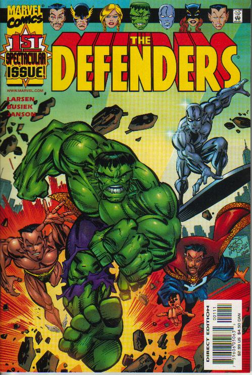 Cover Defenders (vol. 2) 1