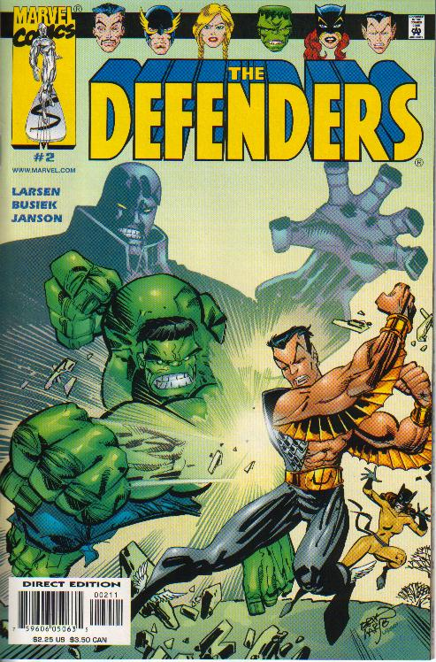 Cover Defenders (vol. 2) 2a