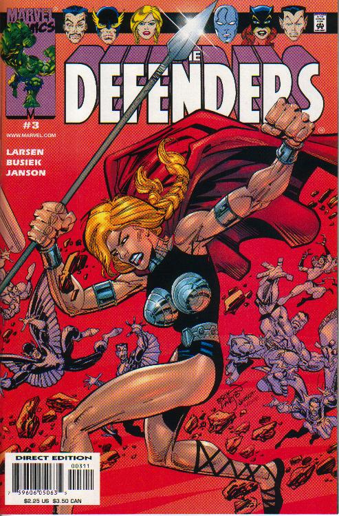 Cover Defenders (vol. 2) 3