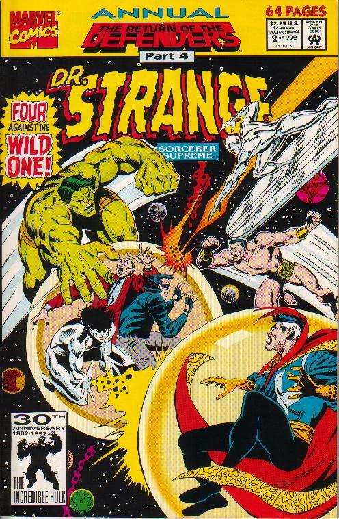 Doctor Strange Annual 2
