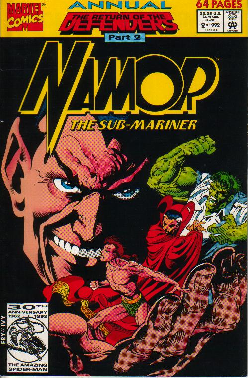 Namor Annual 2