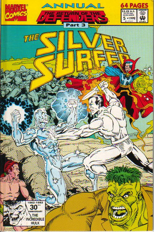 Silver Surfer Annual 5